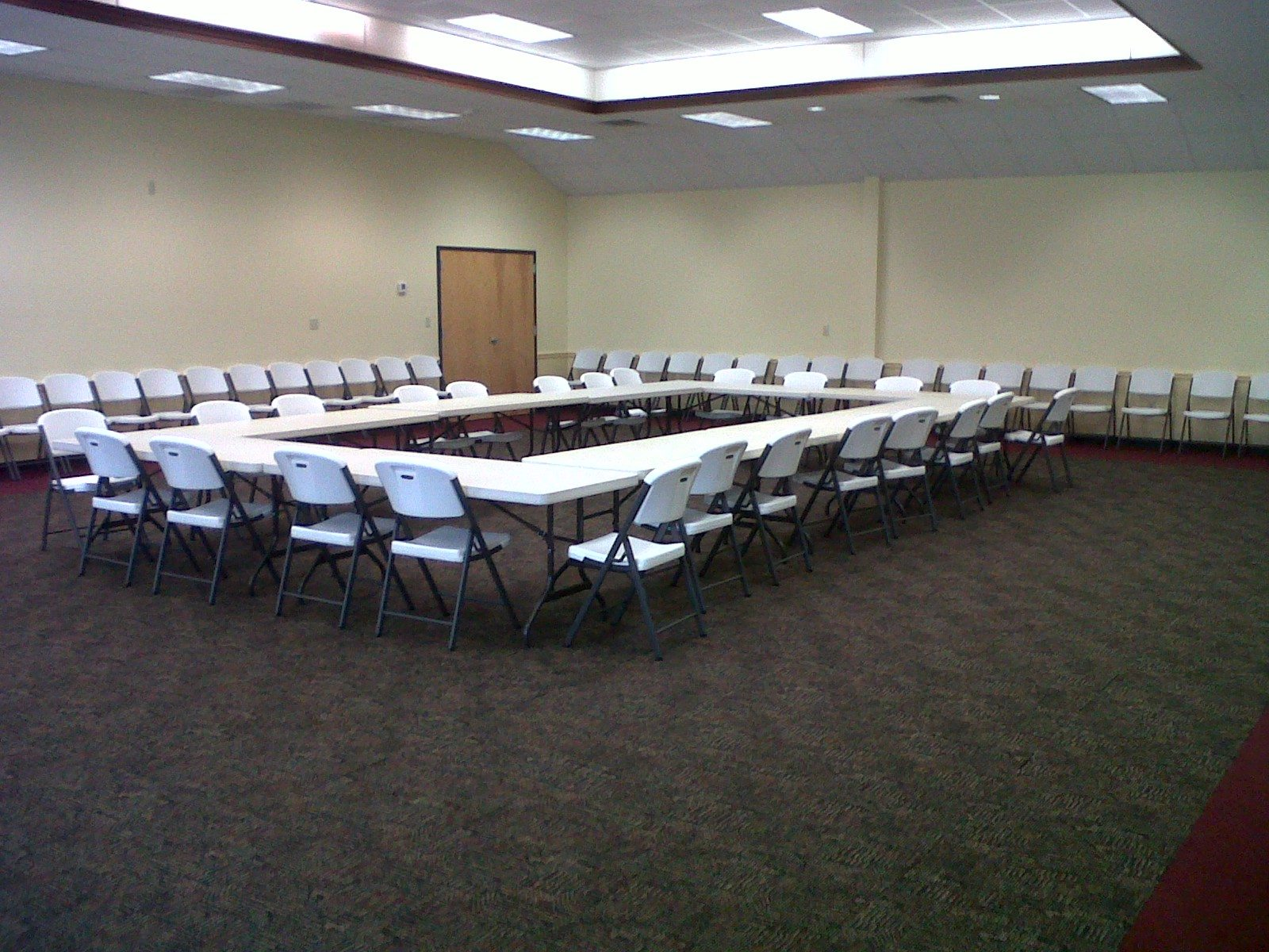 Meeting Room Granville County - 16 foot conference room table