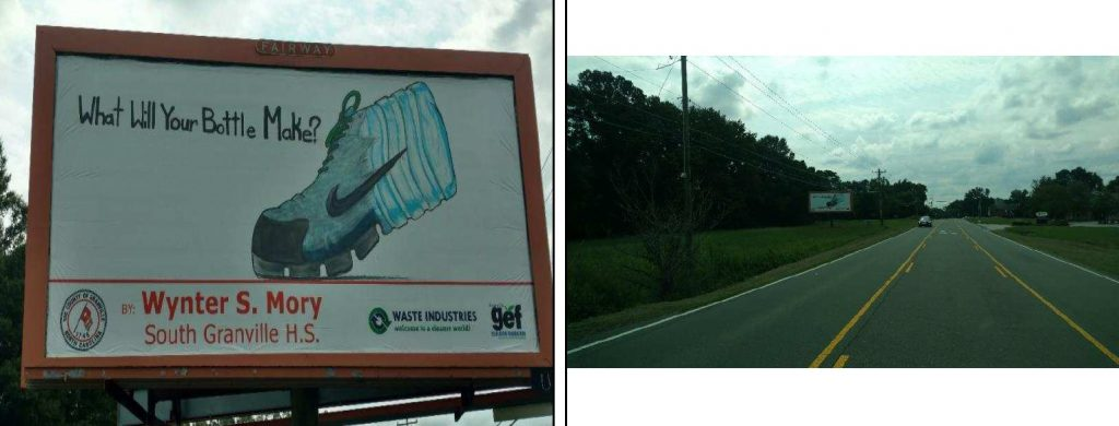 Billboard, Recycling contest winner