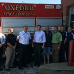 Mike Causey with Oxford Fire Department