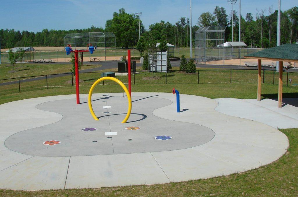Sprayground at the Granville Athletic Park