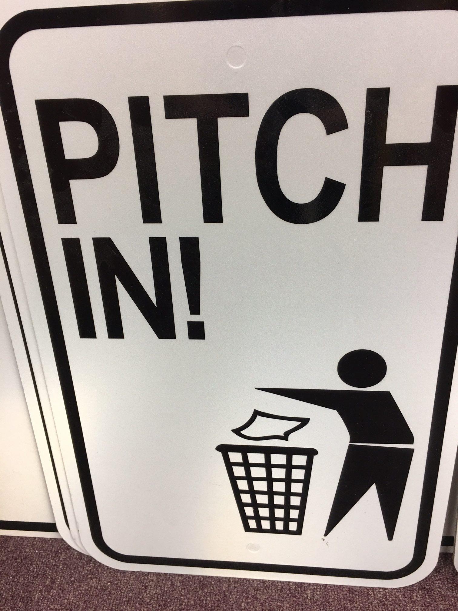 litter signage sponsorship program