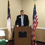 Kyle Puryear, President of the Granville County Chamber of Commerce
