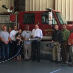 Mike Causey with Brassfield Fire Department