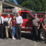 Mike Causey with Franklinton Fire Dept.