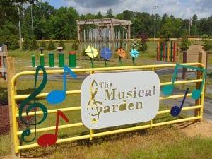 Musical Garden Play Space