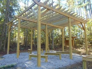 outdoor classroom structure